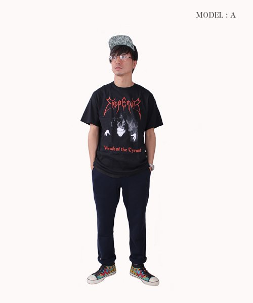 Official Artist Goods / バンドTなど  EMPEROR / エンペラー:WRATH OF THE TYRANT T-SHIRTS (BLACK) 商品画像12