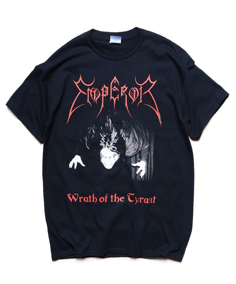 Official Artist Goods / バンドTなど  EMPEROR / エンペラー:WRATH OF THE TYRANT T-SHIRTS (BLACK) 商品画像2
