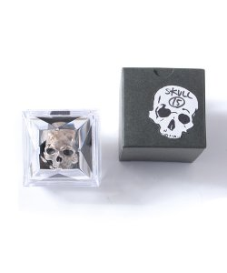 "RALEIGH:REDMOTEL<br>【 ""BONEHEAD"" SILVER SKULL RING 】"