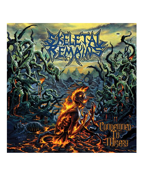 CD / DVD   SKELETAL REMAINS / スケルタル リメインズ:CONDEMNED TO MISERY (輸入盤CD) 商品画像