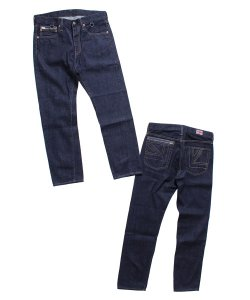 "RALEIGH<br>【 ""TIED TO THE 90S"" SK8 DENIM PANTS (TIGHT STRAIGHT) 】"