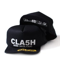 "RALEIGH<br>【 Red B.C. CAPITAL RADIO ""CLA5H"" SK8 SNAPBACK CAP 】"