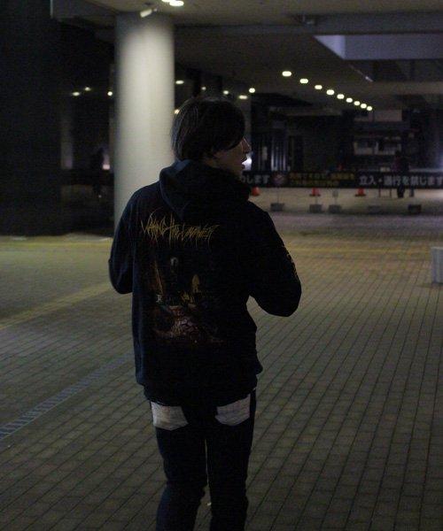 Official Artist Goods / バンドTなど |WAKING THE CADAVER / ウェイキング・ザ・キャダバー:REAL-LIFE DEATH ZIP-UP HOODIE 商品画像15