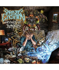 PARASITIC EJACULATION<br>【 ECHOES OF DEPRAVITY (日本盤) 】