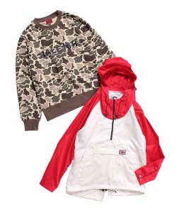 "RALEIGH:REDMOTEL(2色展開)<br>【 RALEIGH ""ENGLAND'S DREAMING"" FISHTAIL PARKA 】"