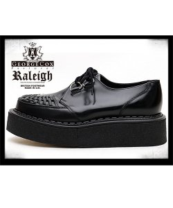"""RALEIGH×GEORGE COX<br>【 GIBSON 3588改 """"Symbolic Action!!!"""" RUBBER-SOLED 】"""