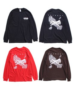 OUTRAGE × SIDEMILITIAinc.(3色展開)<br>【 30th ANNIVERSARY L/S T-SHIRTS 】