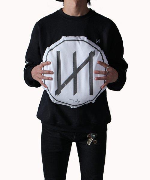 Official Artist Goods / バンドTなど  MERZ(THE NOVEMBERS) × SIDEMILITIA  REVERSIBLE CUSHION 商品画像10