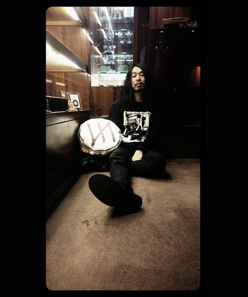 Official Artist Goods / バンドTなど  MERZ(THE NOVEMBERS) × SIDEMILITIA  REVERSIBLE CUSHION 商品画像11