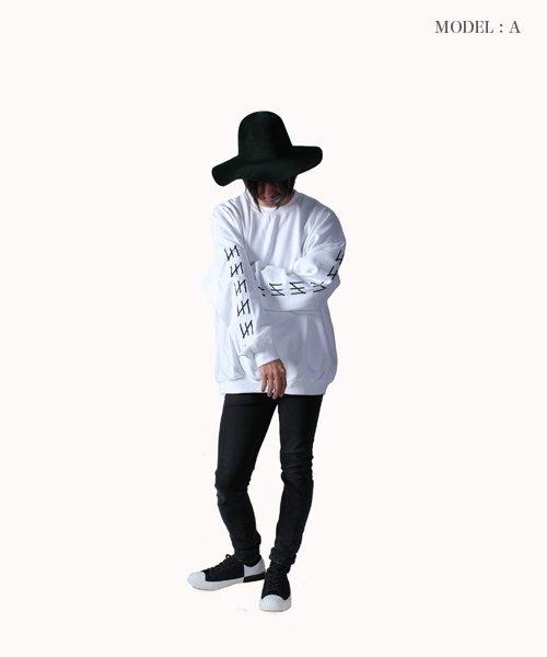 Official Artist Goods / バンドTなど |MERZ(THE NOVEMBERS) × SIDEMILITIA(2色展開)  CREWNECK SWEAT 商品画像15