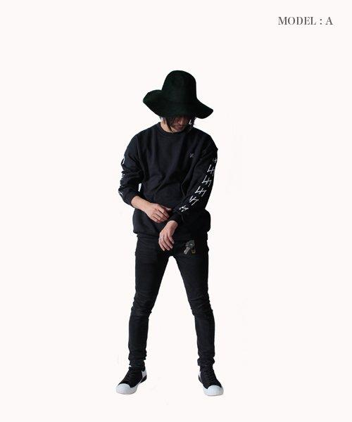 Official Artist Goods / バンドTなど |MERZ(THE NOVEMBERS) × SIDEMILITIA(2色展開)  CREWNECK SWEAT 商品画像17