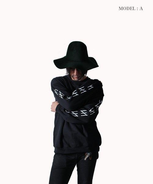 Official Artist Goods / バンドTなど |MERZ(THE NOVEMBERS) × SIDEMILITIA(2色展開)  CREWNECK SWEAT 商品画像18