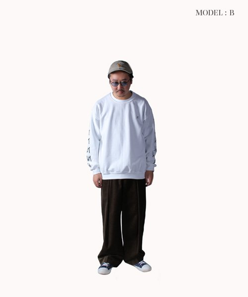 Official Artist Goods / バンドTなど |MERZ(THE NOVEMBERS) × SIDEMILITIA(2色展開)  CREWNECK SWEAT 商品画像19
