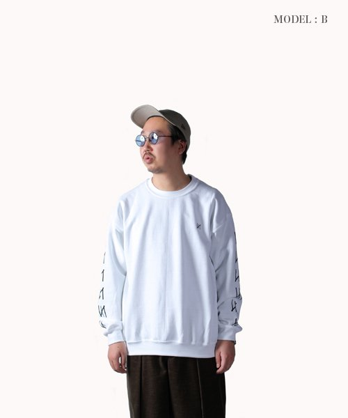 Official Artist Goods / バンドTなど |MERZ(THE NOVEMBERS) × SIDEMILITIA(2色展開)  CREWNECK SWEAT 商品画像20