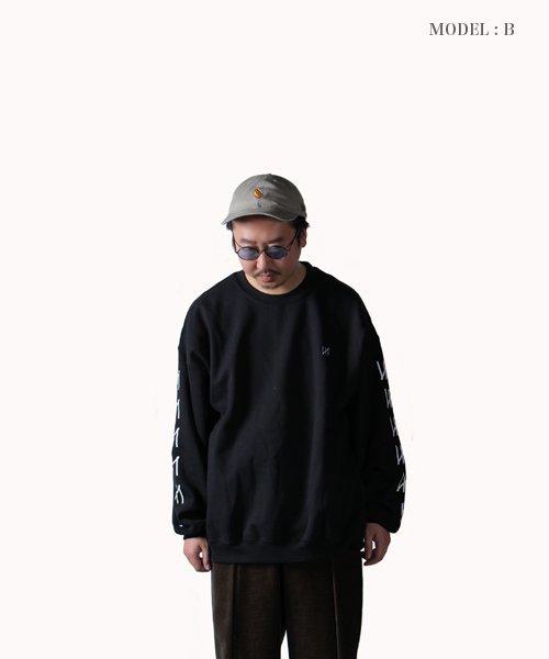 Official Artist Goods / バンドTなど |MERZ(THE NOVEMBERS) × SIDEMILITIA(2色展開)  CREWNECK SWEAT 商品画像22