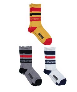 "RALEIGH:REDMOTEL(3色展開)<br>【 ""EXCITEMENT OF EARLY80'S RALEIGH"" SK-8 SOX(2nd)】"