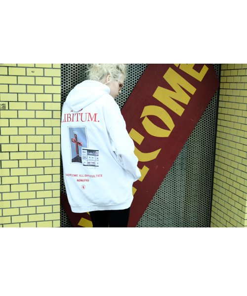 NIL DUE / NIL UN TOKYO / ニル デュエ / ニル アン トーキョー   BIG HOODIE / WH 商品画像4