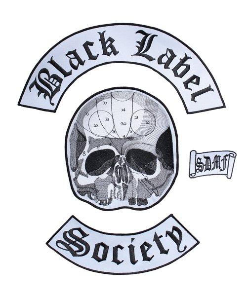 Official Artist Goods / バンドTなど | BLACK LABEL SOCIETY / ブラック レーベル ソサイアティ:BIG EMBROIDERY WAPPEN 商品画像