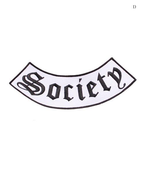 Official Artist Goods / バンドTなど |BLACK LABEL SOCIETY / ブラック レーベル ソサイアティ:BIG EMBROIDERY WAPPEN 商品画像4