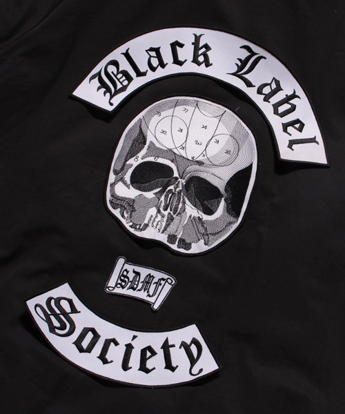 Official Artist Goods / バンドTなど |BLACK LABEL SOCIETY / ブラック レーベル ソサイアティ:BIG EMBROIDERY WAPPEN 商品画像6