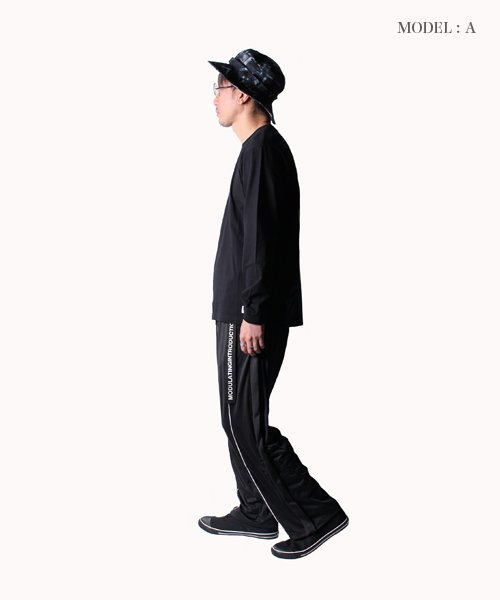 NIL DUE / NIL UN TOKYO / ニル デュエ / ニル アン トーキョー | ROPE PIPING SPLIT WIDE PANTS 商品画像16