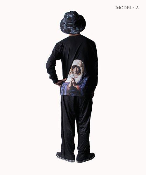 NIL DUE / NIL UN TOKYO / ニル デュエ / ニル アン トーキョー | ROPE PIPING SPLIT WIDE PANTS 商品画像17