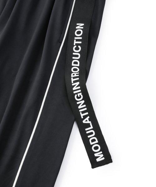 NIL DUE / NIL UN TOKYO / ニル デュエ / ニル アン トーキョー | ROPE PIPING SPLIT WIDE PANTS 商品画像3