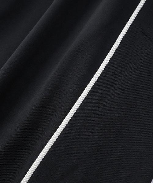 NIL DUE / NIL UN TOKYO / ニル デュエ / ニル アン トーキョー | ROPE PIPING SPLIT WIDE PANTS 商品画像7