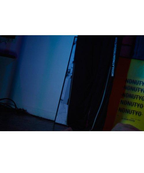 NIL DUE / NIL UN TOKYO / ニル デュエ / ニル アン トーキョー | ROPE PIPING SPLIT WIDE PANTS 商品画像9