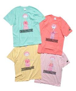 PIIT / ピット / おそ松さん design by PIIT(4色展開)  Tシャツ スケルトンver