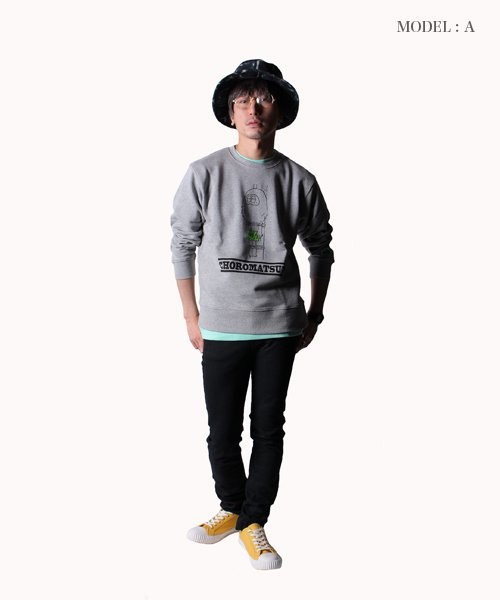 PIIT / ピット |おそ松さん design by PIIT / スウェットトレーナー げんし松ver 商品画像13