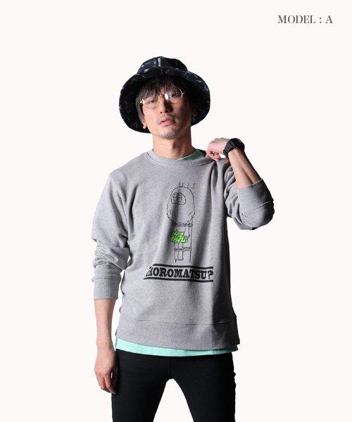 PIIT / ピット |おそ松さん design by PIIT / スウェットトレーナー げんし松ver 商品画像14