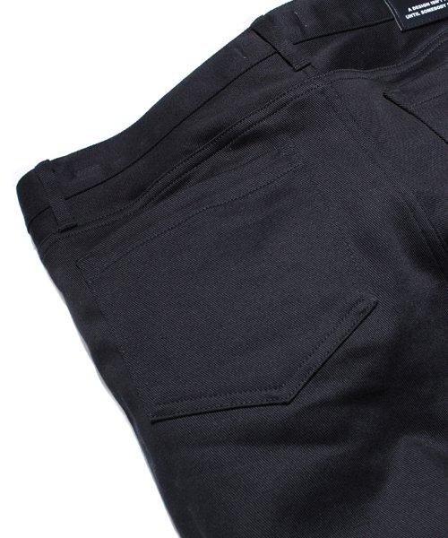 NIL DUE / NIL UN TOKYO / ニル デュエ / ニル アン トーキョー |LEATHER TAG SKINNY PANTS 商品画像10