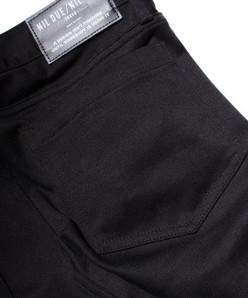 NIL DUE / NIL UN TOKYO / ニル デュエ / ニル アン トーキョー |LEATHER TAG SKINNY PANTS 商品画像11