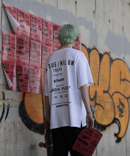 NIL DUE / NIL UN TOKYO / ニル デュエ / ニル アン トーキョー |LEATHER TAG SKINNY PANTS 商品画像13