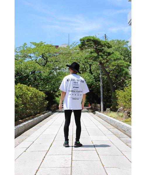 NIL DUE / NIL UN TOKYO / ニル デュエ / ニル アン トーキョー |LEATHER TAG SKINNY PANTS 商品画像21