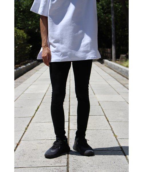 NIL DUE / NIL UN TOKYO / ニル デュエ / ニル アン トーキョー |LEATHER TAG SKINNY PANTS 商品画像22
