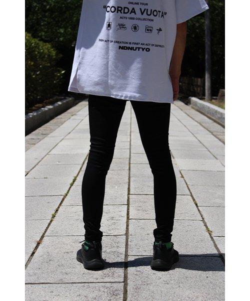 NIL DUE / NIL UN TOKYO / ニル デュエ / ニル アン トーキョー |LEATHER TAG SKINNY PANTS 商品画像24