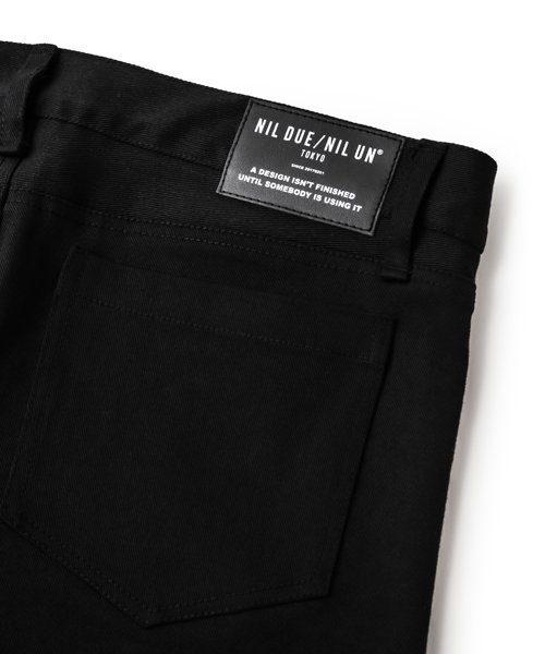 NIL DUE / NIL UN TOKYO / ニル デュエ / ニル アン トーキョー |LEATHER TAG SKINNY PANTS 商品画像30