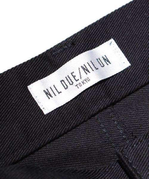 NIL DUE / NIL UN TOKYO / ニル デュエ / ニル アン トーキョー |LEATHER TAG SKINNY PANTS 商品画像6