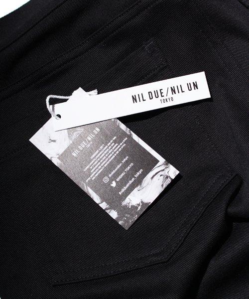 NIL DUE / NIL UN TOKYO / ニル デュエ / ニル アン トーキョー |LEATHER TAG SKINNY PANTS 商品画像7