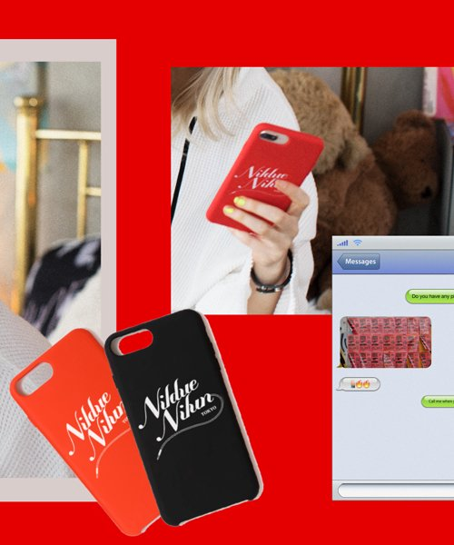 NIL DUE / NIL UN TOKYO / ニル デュエ / ニル アン トーキョー   SILICON I PHONE CASE 商品画像13