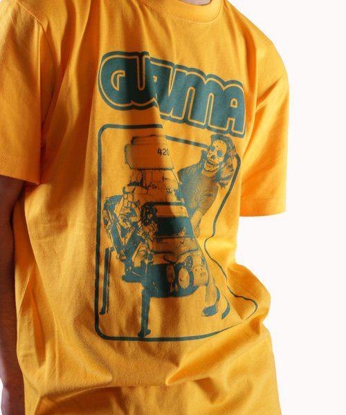 Official Artist Goods / バンドTなど |GUEVNNA / ゲヴンナ:ENGINE OF DEATH SHIRT (GREEN/GOLD YELLOW/BLACK) 商品画像16