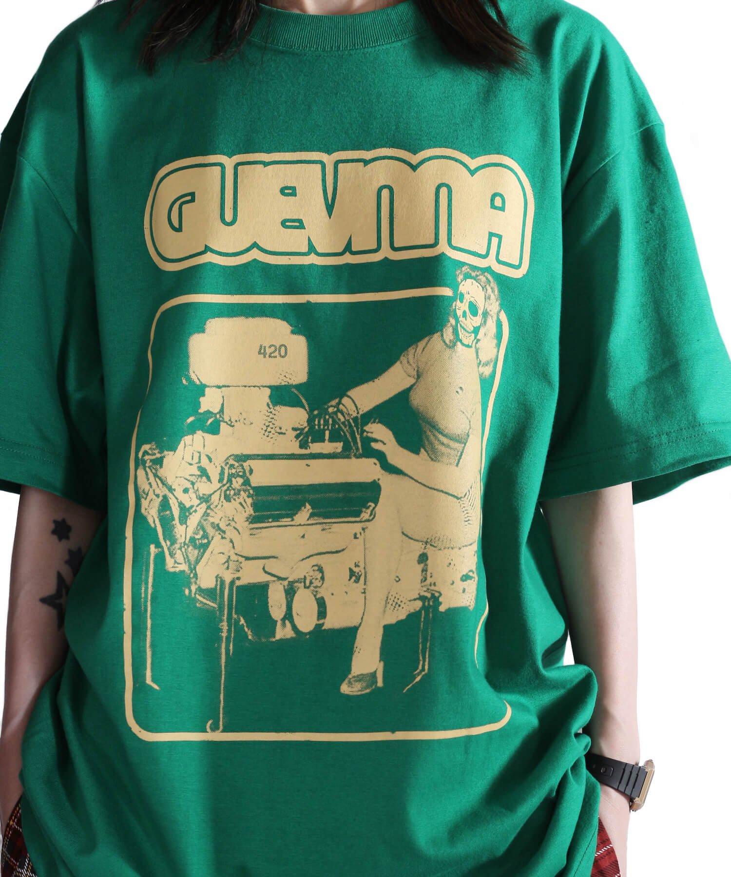 Official Artist Goods / バンドTなど |GUEVNNA / ゲヴンナ:ENGINE OF DEATH SHIRT (GREEN/GOLD YELLOW/BLACK) 商品画像22