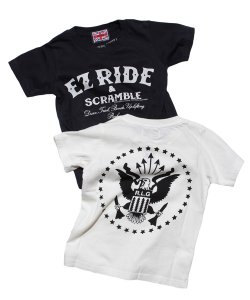 "RALEIGH:REDMOTEL(2色展開)<br>【 ""EZ RIDE & SCRAMBLE"" LITTLE RAMONA T-SHIRTS (子供用) 】"