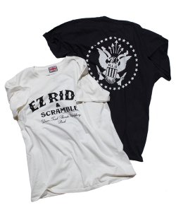 "RALEIGH:REDMOTEL(2色展開)<br>【 ""EZ RIDE & SCRAMBLE"" LITTLE RAMONA T-SHIRTS (大人用) 】"