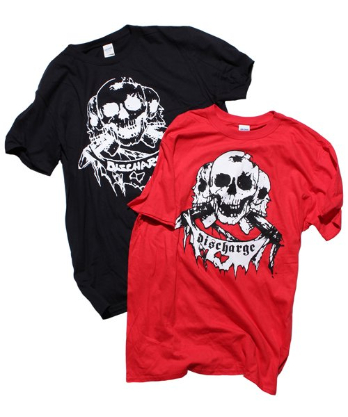 Official Artist Goods / バンドTなど | DISCHARGE / ディスチャージ:BORN TO DIE T-SHIRT (BLACK/RED) 商品画像
