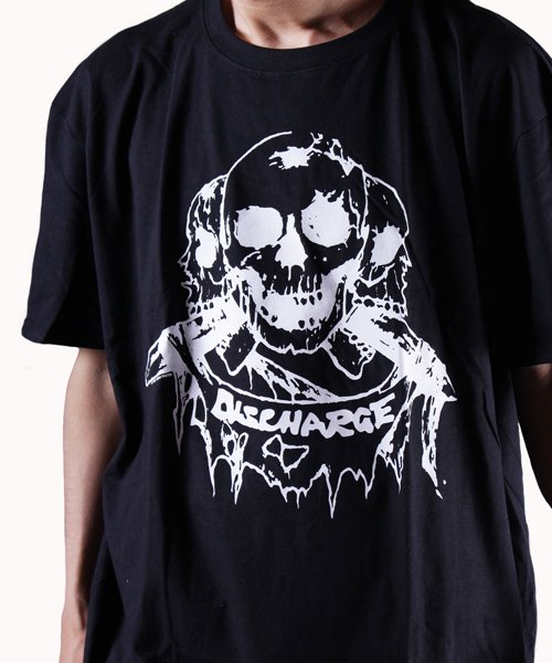 Official Artist Goods / バンドTなど |DISCHARGE / ディスチャージ:BORN TO DIE T-SHIRT (BLACK/RED) 商品画像13
