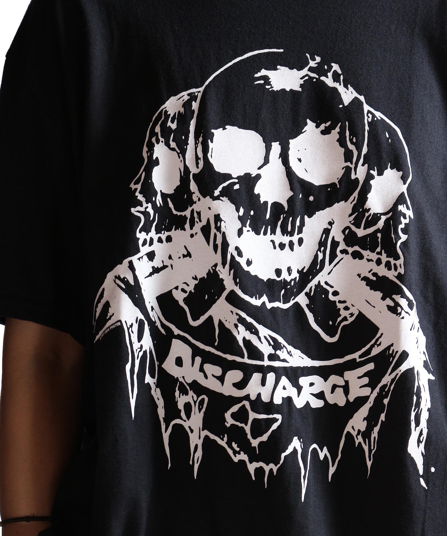 Official Artist Goods / バンドTなど |DISCHARGE / ディスチャージ:BORN TO DIE T-SHIRT (BLACK/RED) 商品画像16