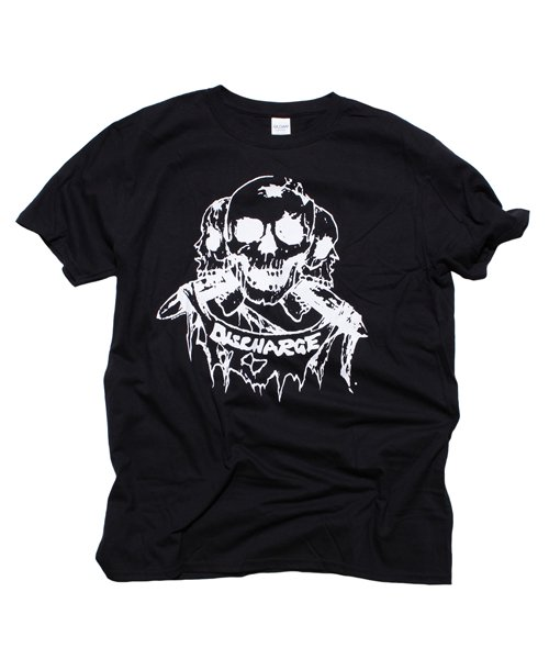 Official Artist Goods / バンドTなど |DISCHARGE / ディスチャージ:BORN TO DIE T-SHIRT (BLACK/RED) 商品画像2